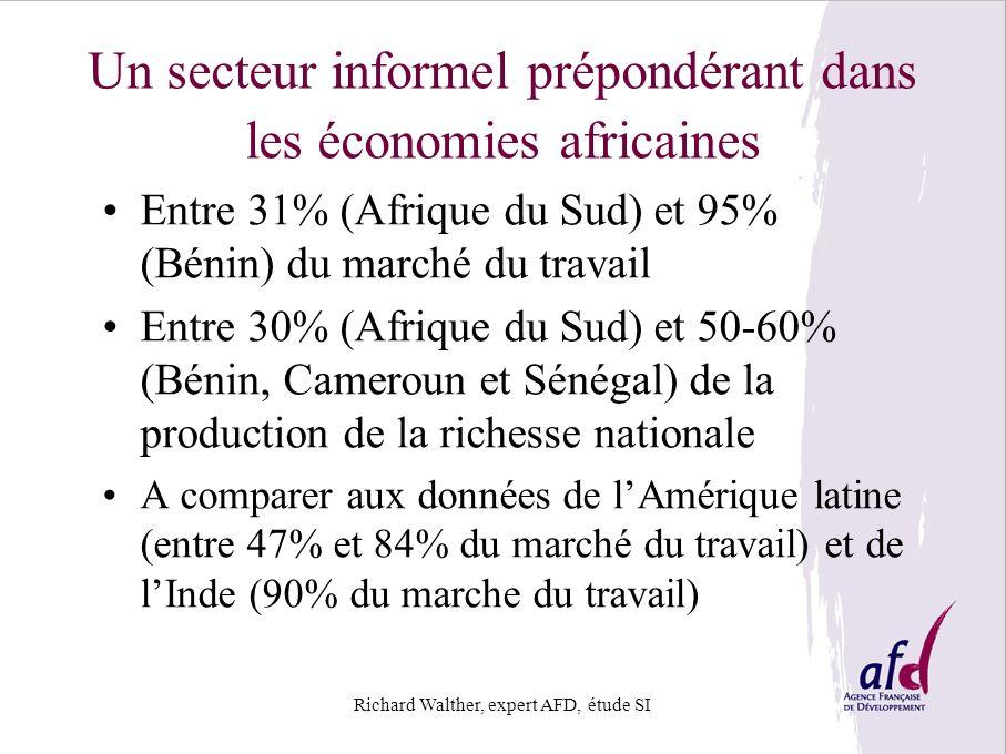 Un secteur informel prépondérant dans les économies africaines