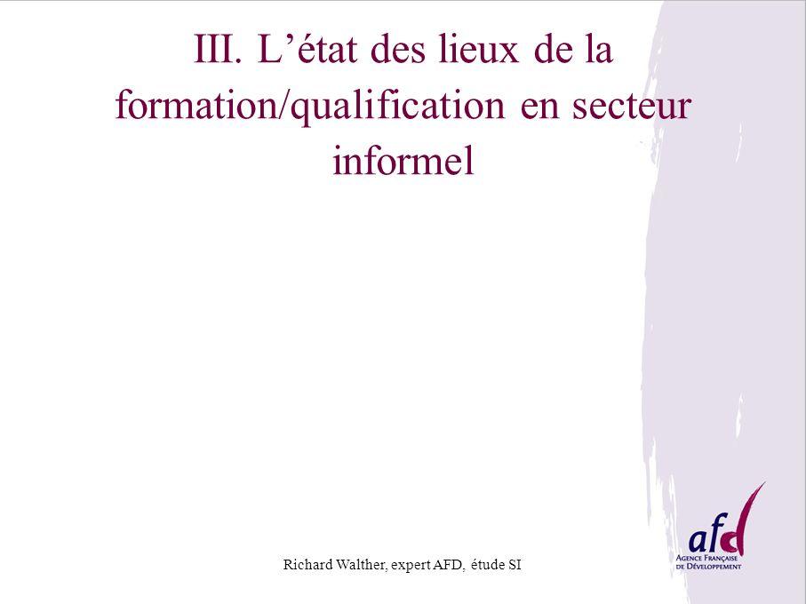 Richard Walther, expert AFD, étude SI