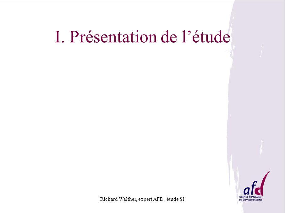 I. Présentation de l'étude