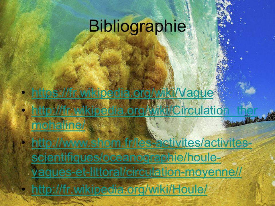 Bibliographie https://fr.wikipedia.org/wiki/Vague