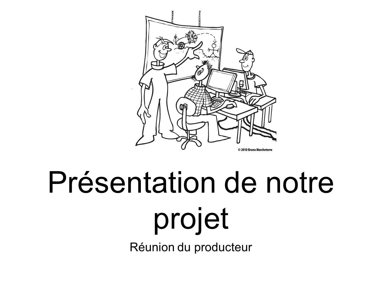 Présentation de notre projet