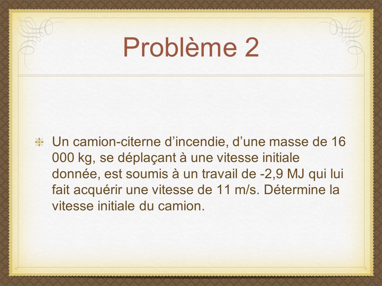 Problème 2