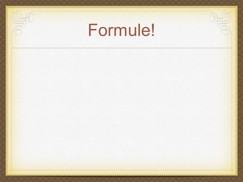 Formule!