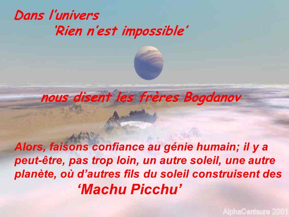 'Rien n'est impossible'