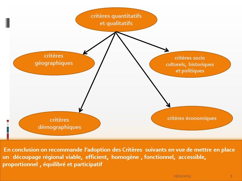 critères quantitatifs et qualitatifs