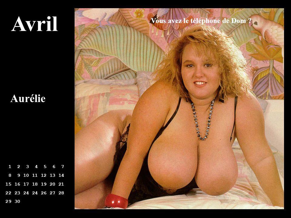 Avril Aurélie Vous avez le téléphone de Dom 1 2 3 4 5 6 7