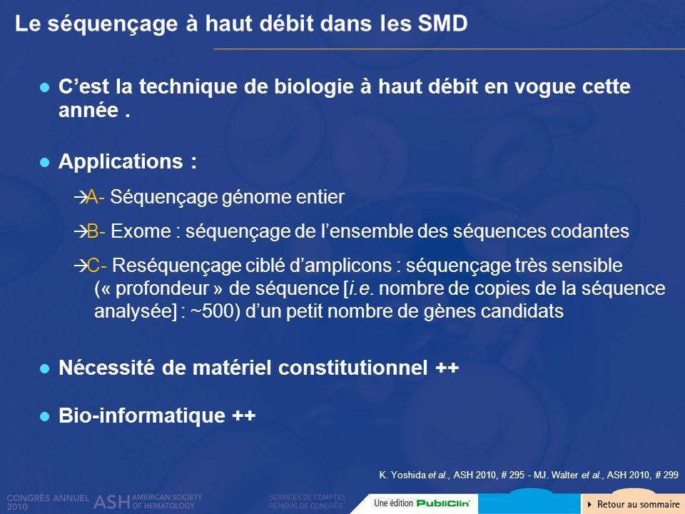 Le séquençage à haut débit dans les SMD