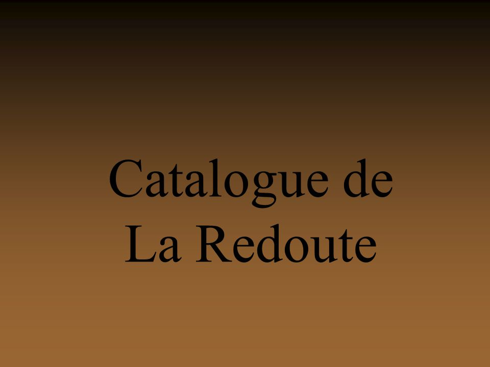 Catalogue de La Redoute