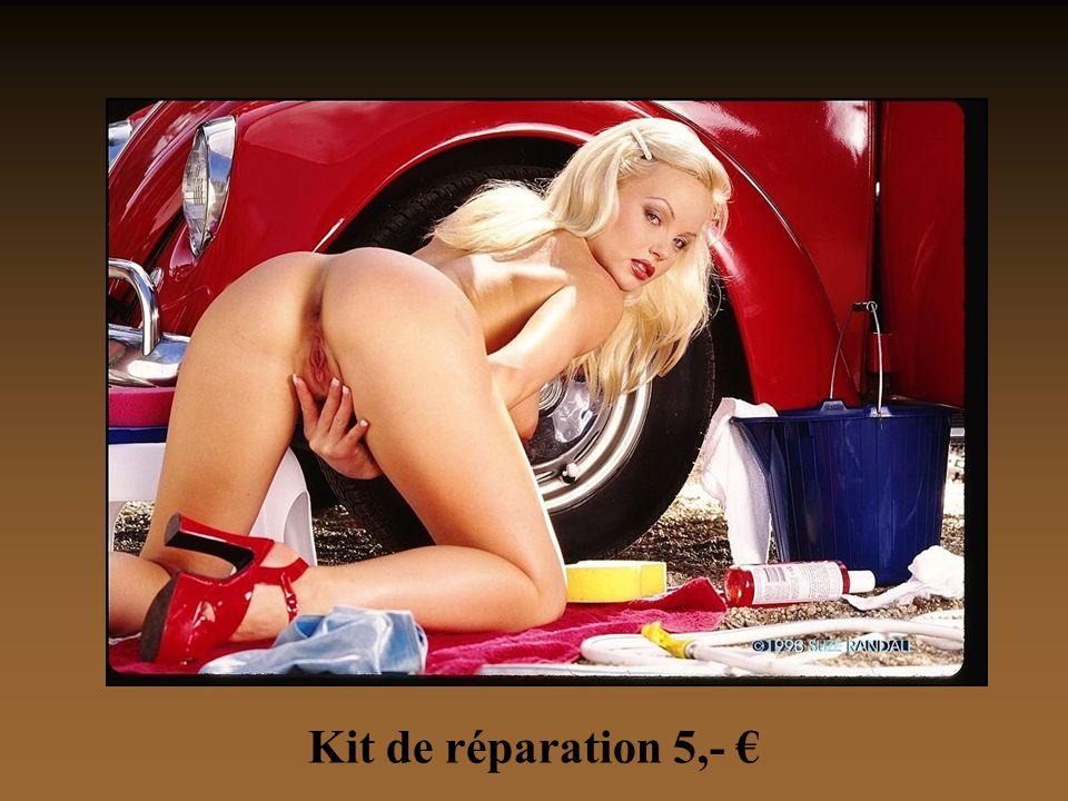 Kit de réparation 5,- €
