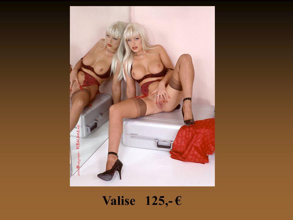 Valise 125,- €