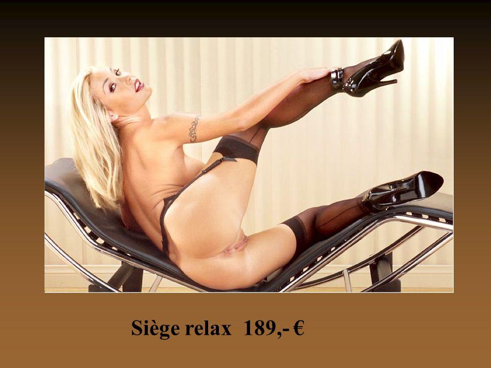 Siège relax 189,- €