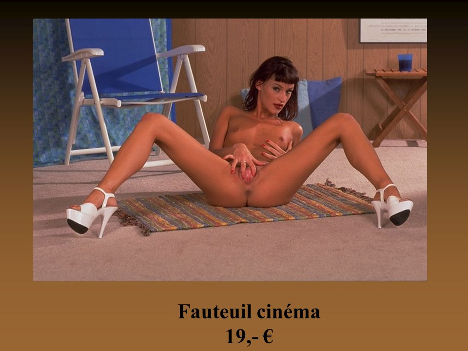 Fauteuil cinéma 19,- €