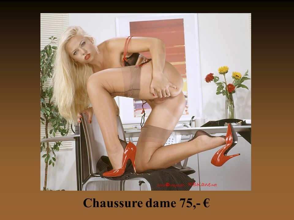 Chaussure dame 75,- €