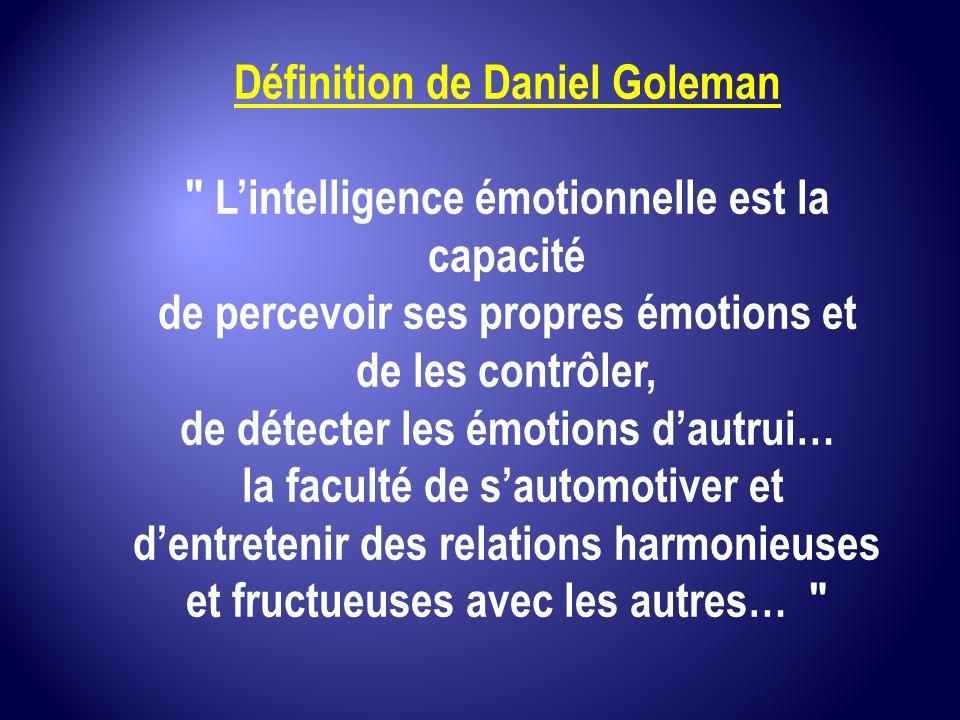 Définition de Daniel Goleman
