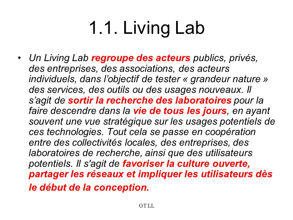 1.1. Living Lab