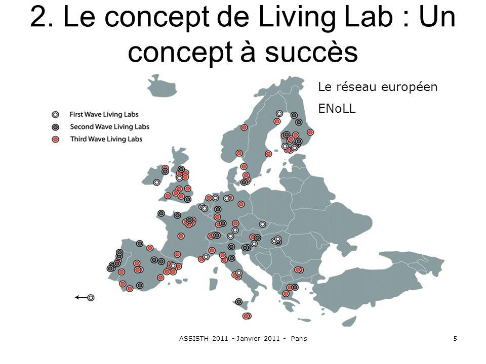 2. Le concept de Living Lab : Un concept à succès
