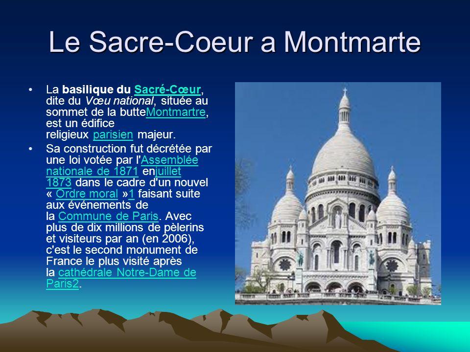 Le Sacre-Coeur a Montmarte