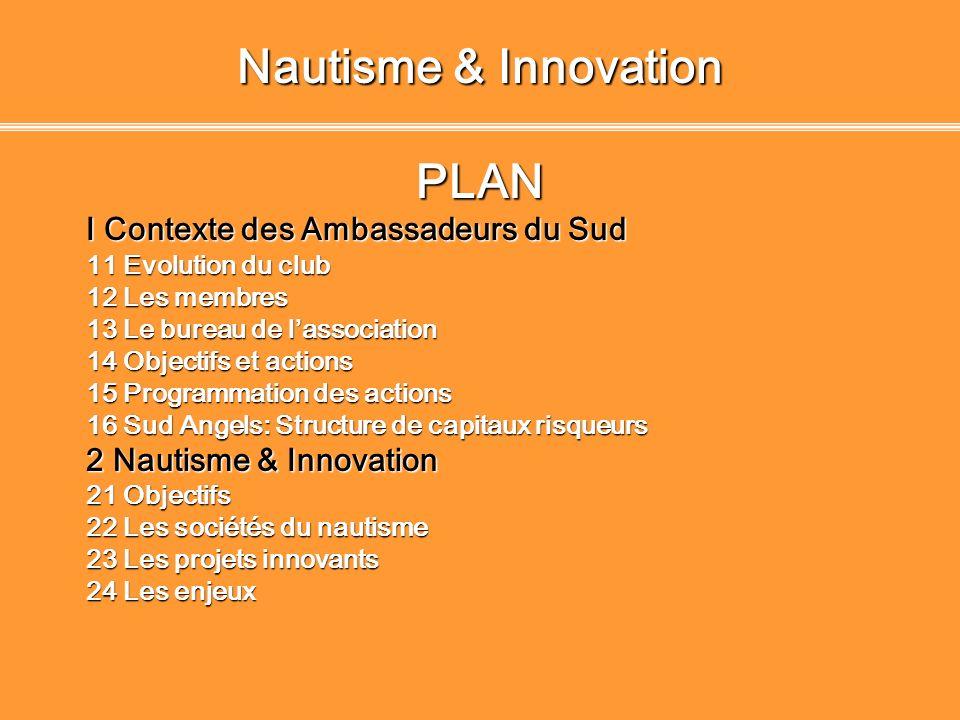 Nautisme & Innovation PLAN