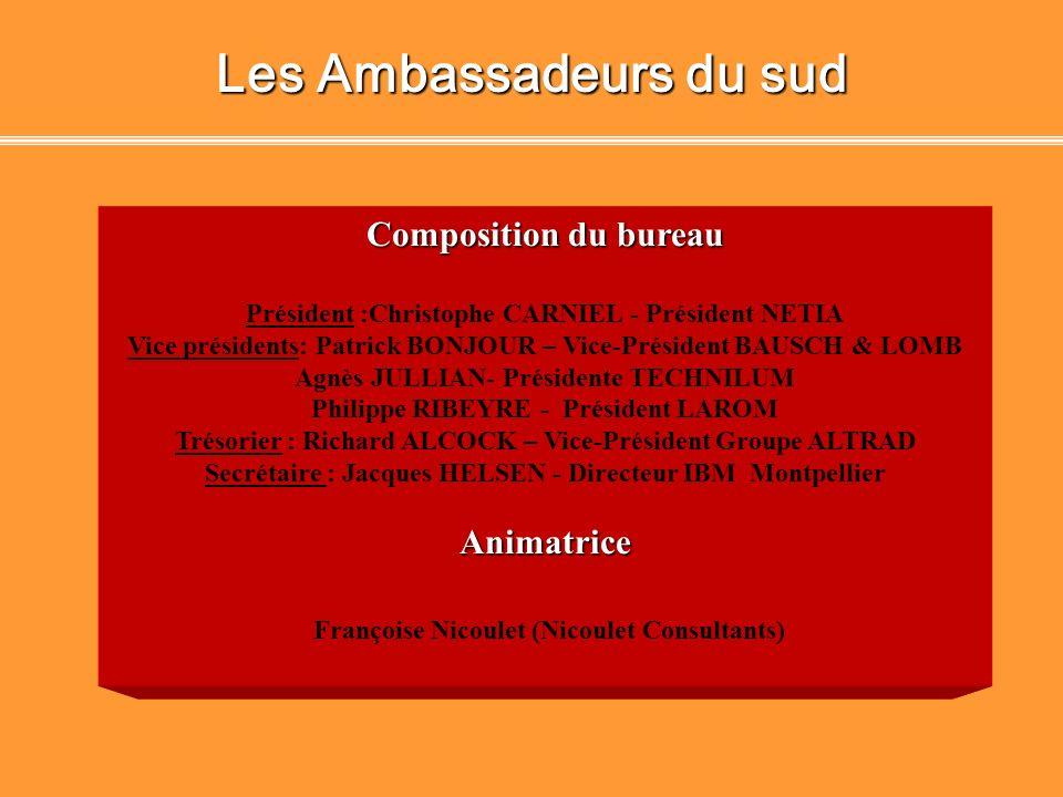 Les Ambassadeurs du sud Françoise Nicoulet (Nicoulet Consultants)