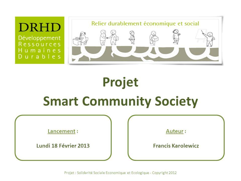 Projet Smart Community Society