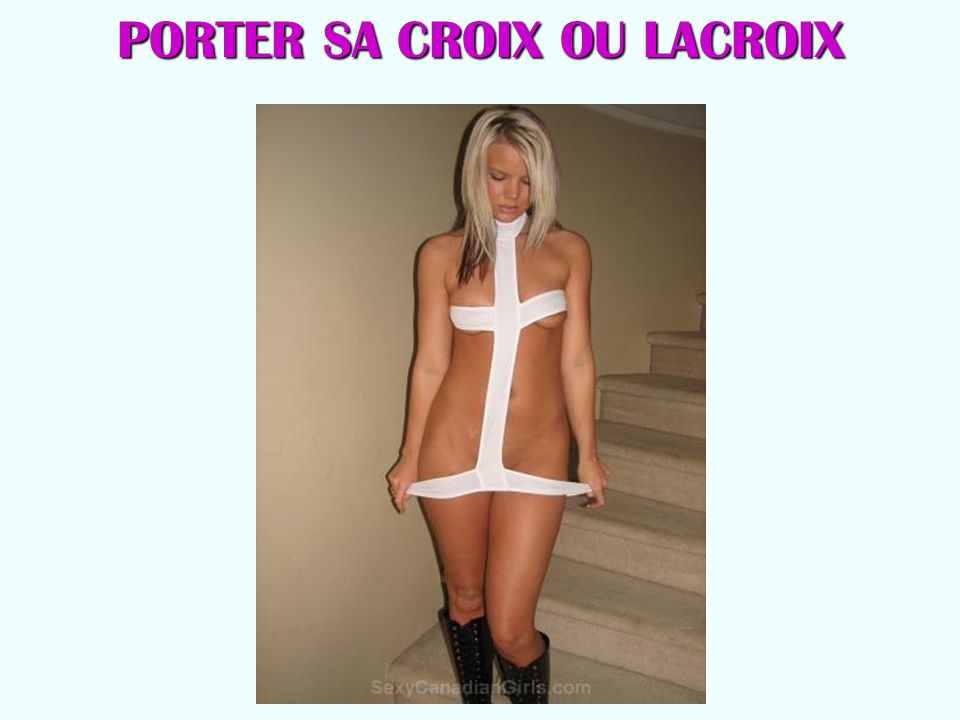 PORTER SA CROIX OU LACROIX