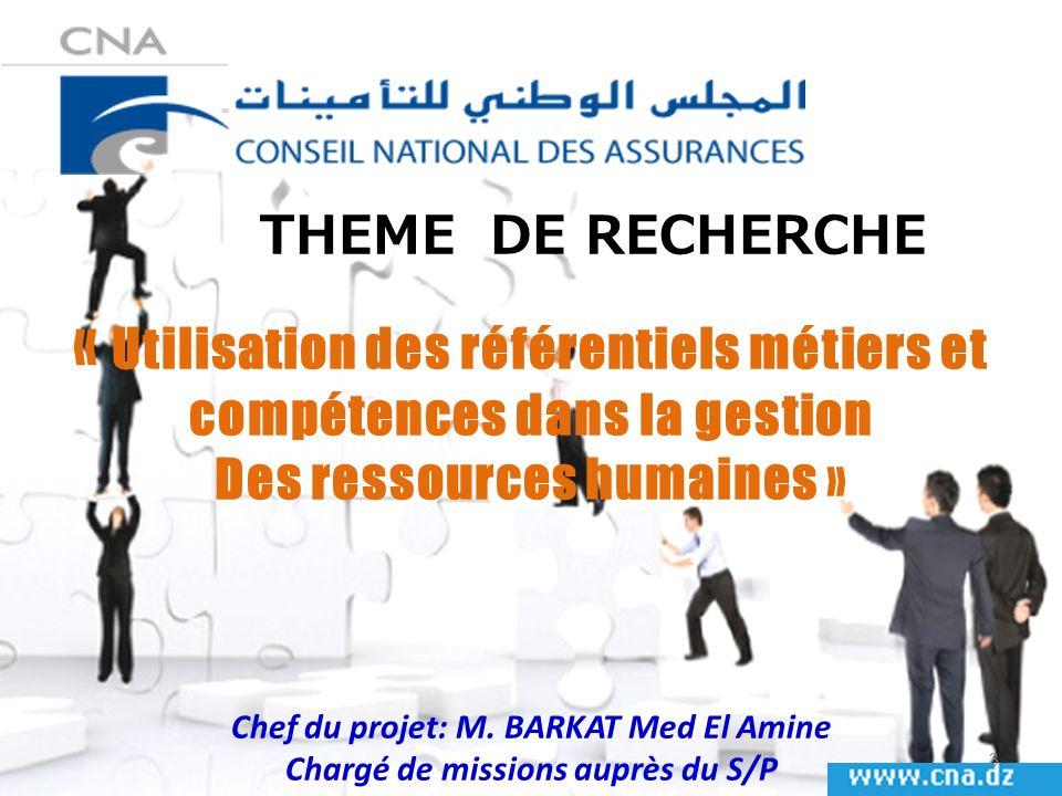 « Utilisation des référentiels métiers et compétences dans la gestion
