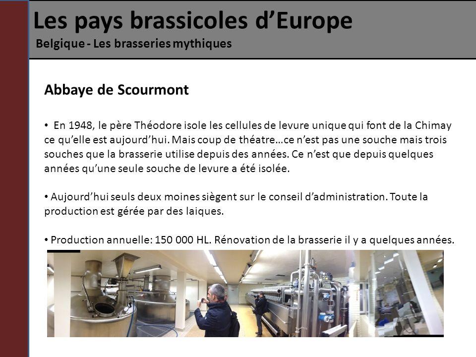 Les pays brassicoles d'Europe Belgique - Les brasseries mythiques