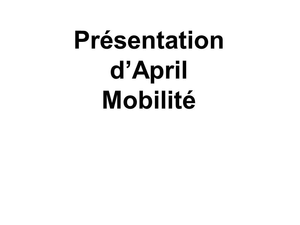 Présentation d'April Mobilité