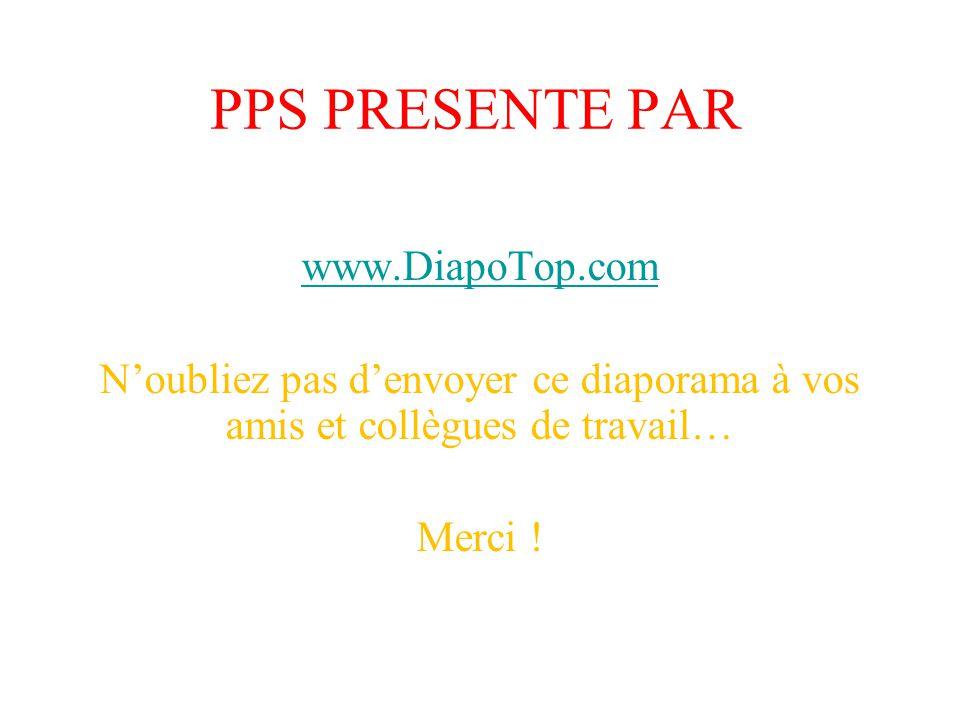 PPS PRESENTE PAR www.DiapoTop.com