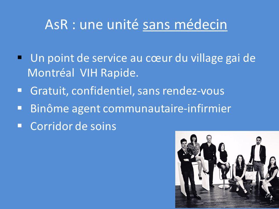 AsR : une unité sans médecin