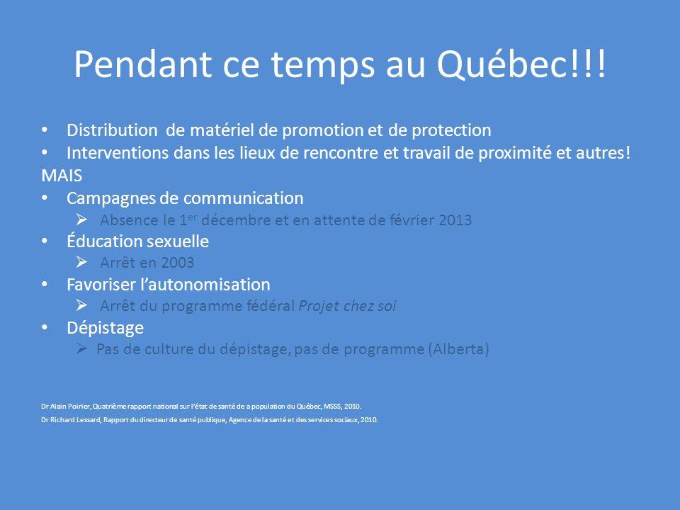 Pendant ce temps au Québec!!!