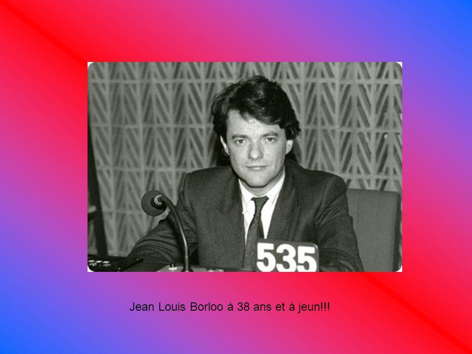 Jean Louis Borloo à 38 ans et à jeun!!!