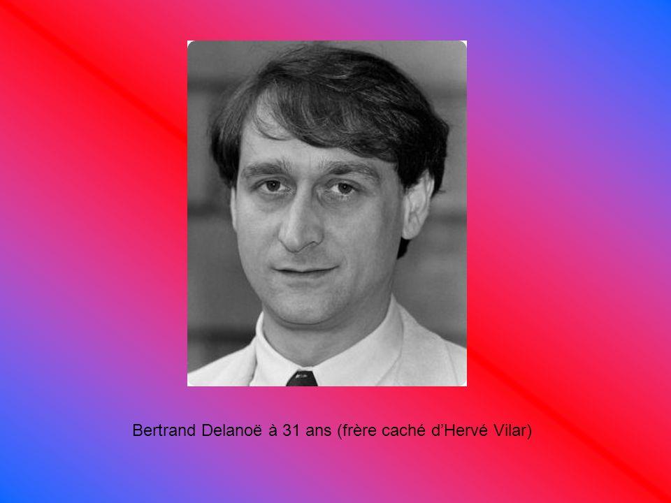 Bertrand Delanoë à 31 ans (frère caché d'Hervé Vilar)