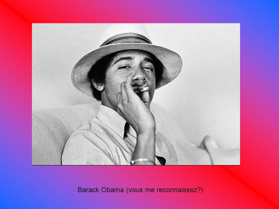 Barack Obama (vous me reconnaissez )