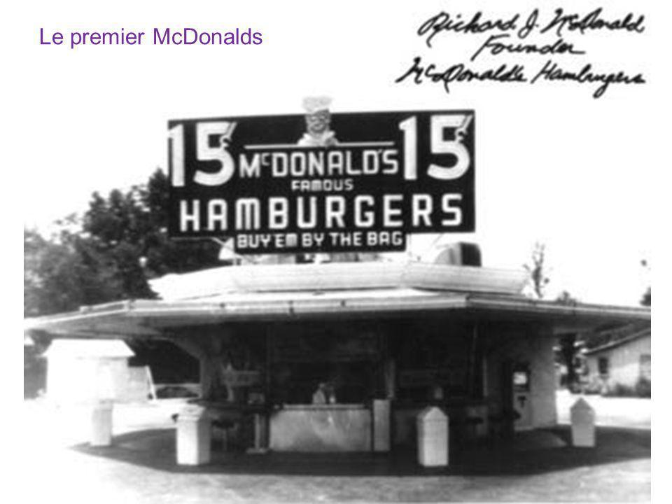 Le premier McDonalds