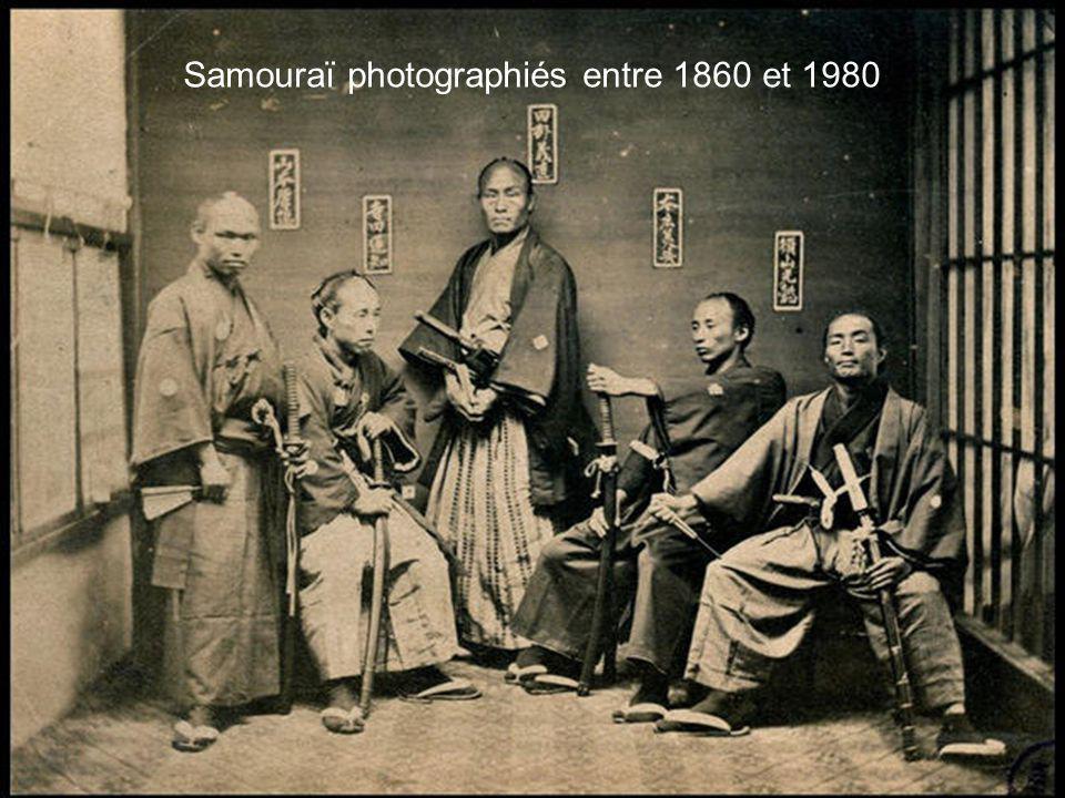 Samouraï photographiés entre 1860 et 1980
