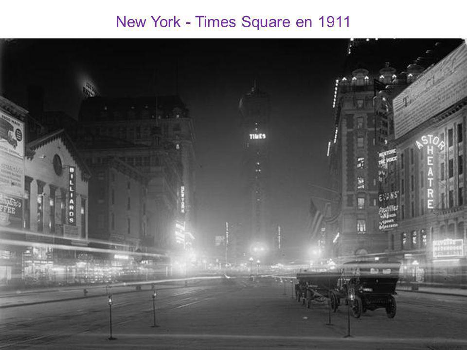New York - Times Square en 1911