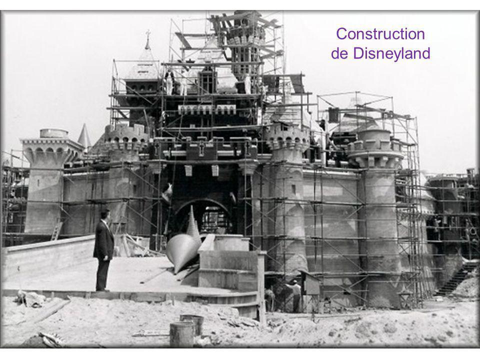 Construction de Disneyland