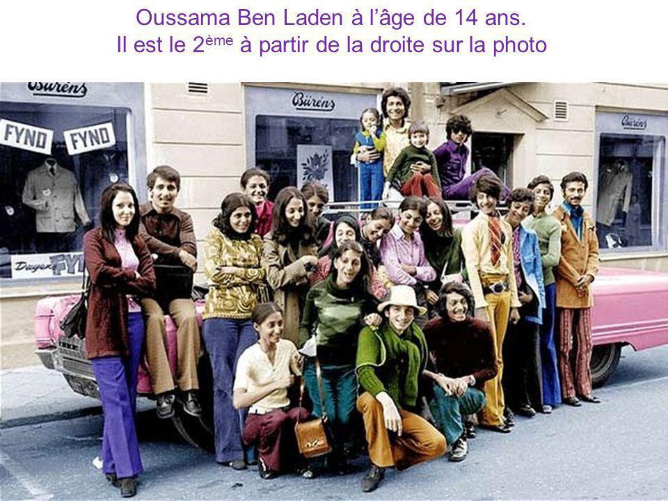 Oussama Ben Laden à l'âge de 14 ans.