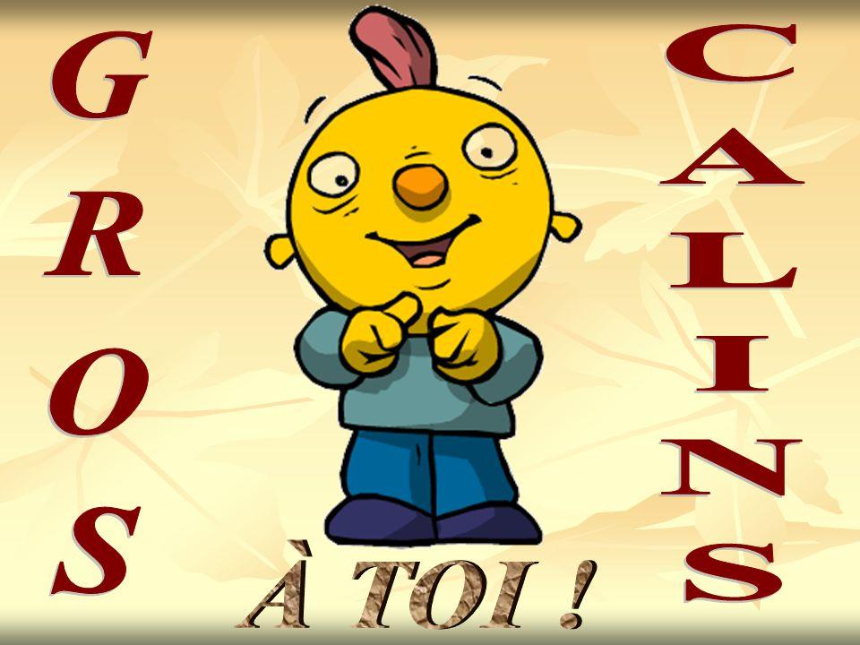 CALINS GROS À TOI !