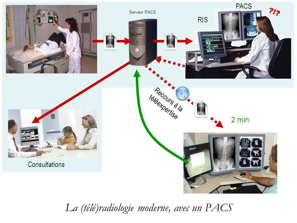 La (télé)radiologie moderne, avec un PACS
