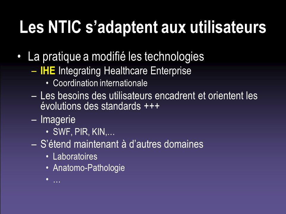 Les NTIC s'adaptent aux utilisateurs
