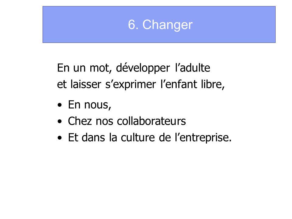 6. Changer En un mot, développer l'adulte