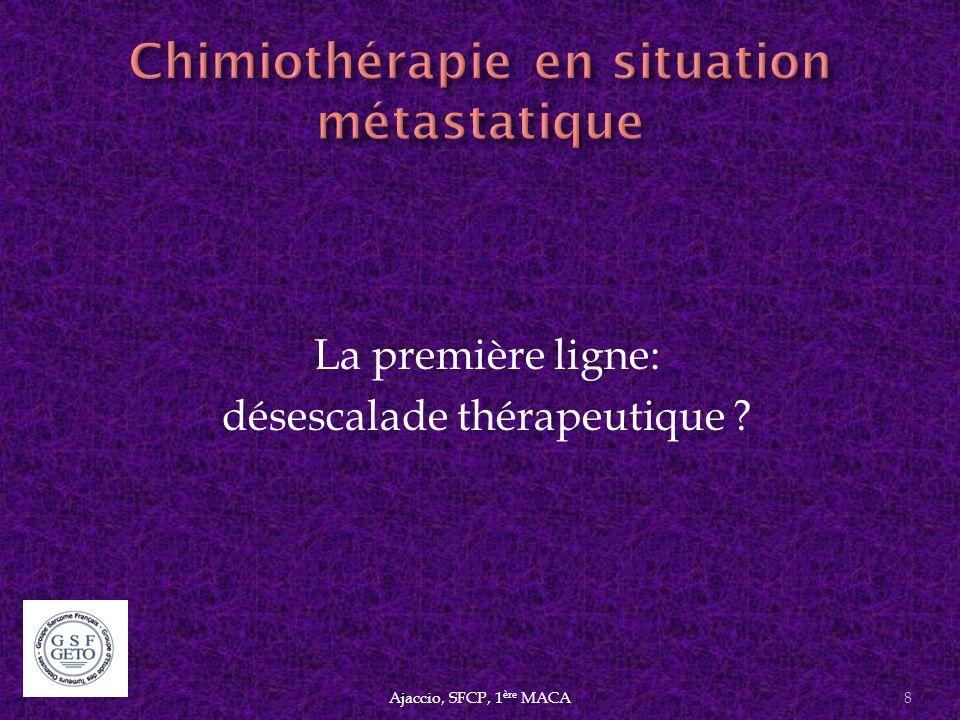 Chimiothérapie en situation métastatique