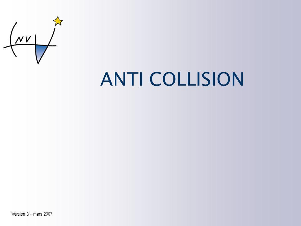 ANTI COLLISION Version 3 – mars 2007