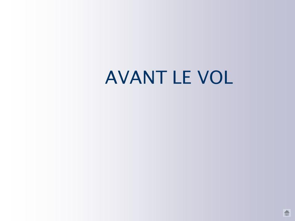 AVANT LE VOL