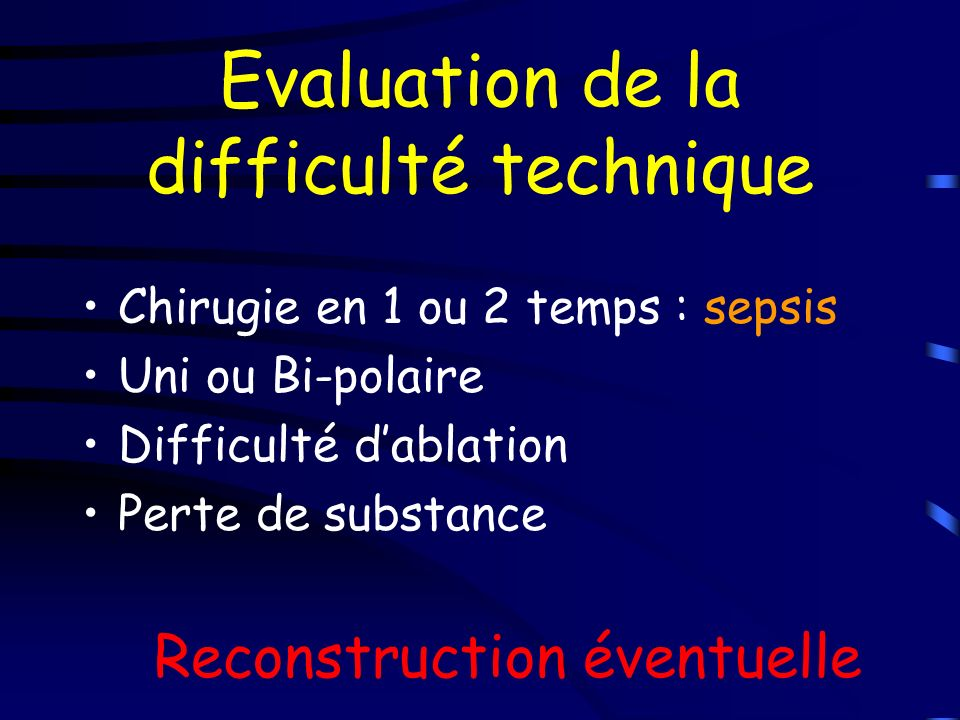 Evaluation de la difficulté technique