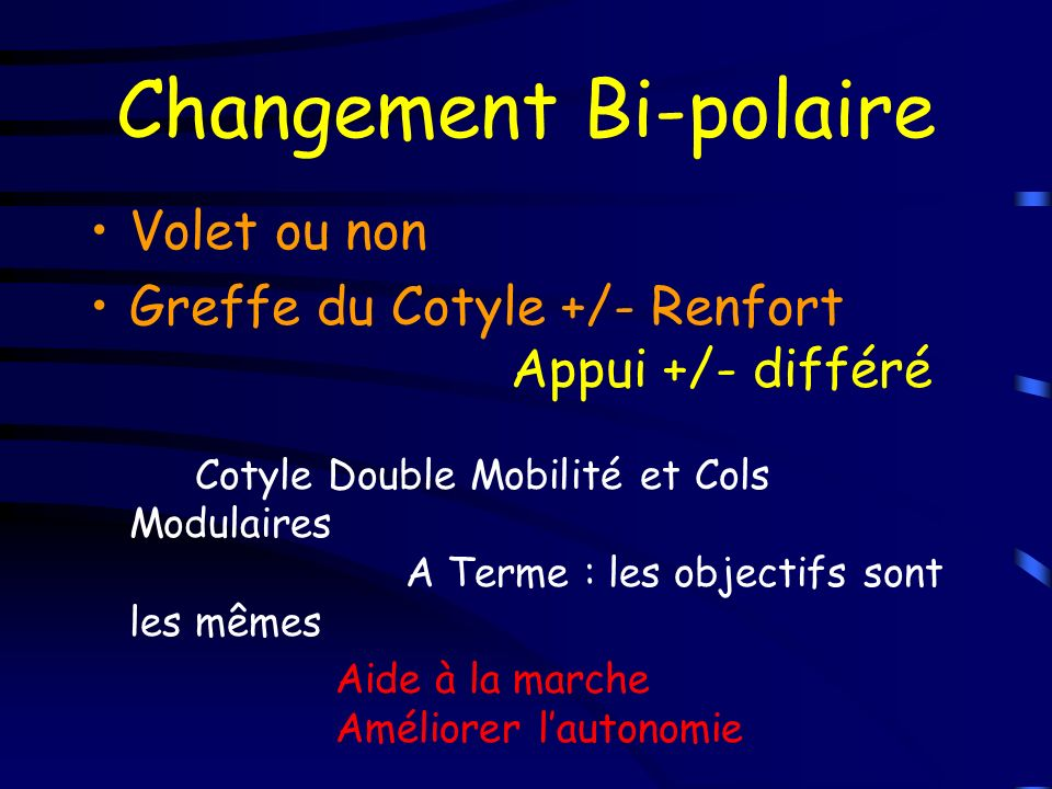 Changement Bi-polaire