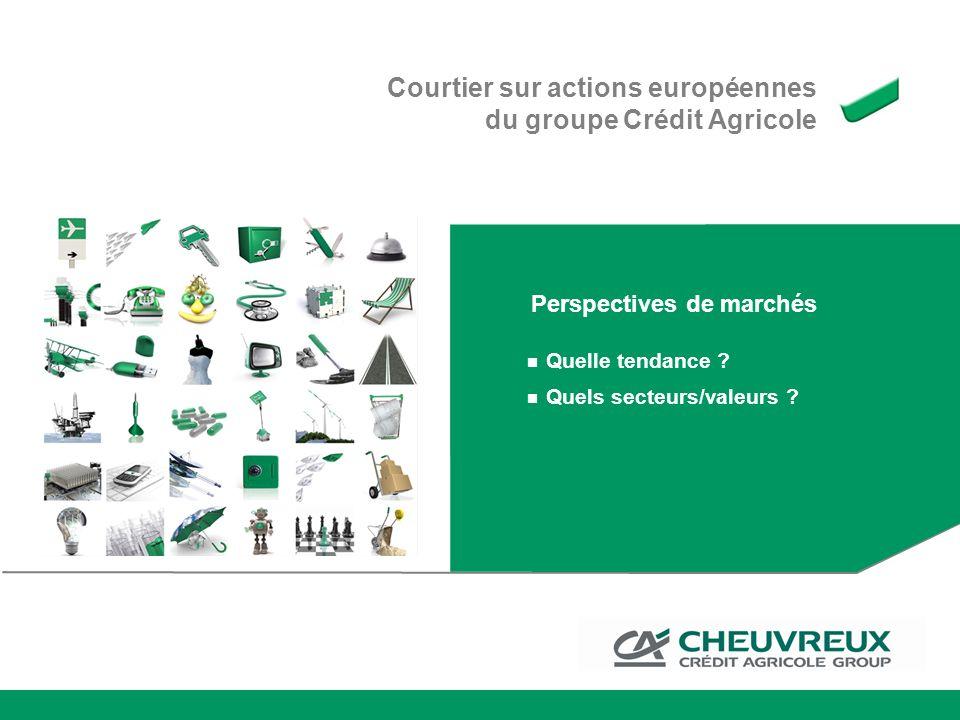 Courtier sur actions européennes du groupe Crédit Agricole