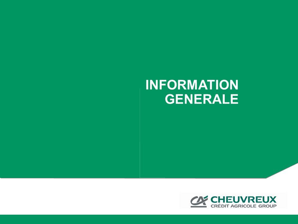 INFORMATION GENERALE